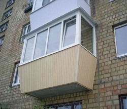 остекление балконов в Мысках