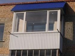 объединение кухни и балкона в Мысках