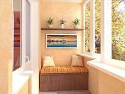 Внутренняя отделка балконов и лоджий в Мысках