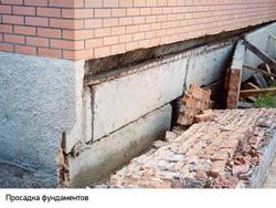 Восстановление фундамента г.Мыски