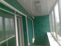 козырьки на балкон в Мысках